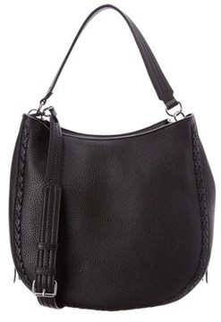 Rebecca Minkoff Leather Convertible Hobo. - BLACK - STYLE