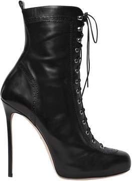 DSQUARED2 120mm Witness Lace-Up Leather Boots