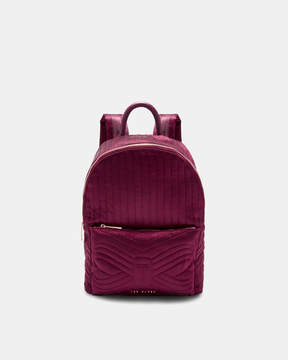 Ted Baker AKIJA Quilted bow nylon backpack
