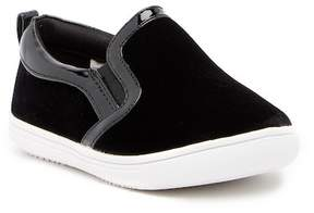 Rachel Lil Delray Velvet Slip-On Sneaker (Toddler & Little Kid)