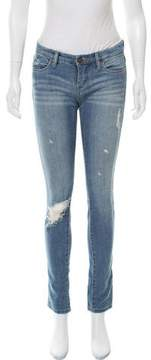 Blank NYC Low-Rise Distressed Jeans