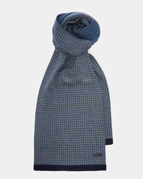 Ted Baker GINGCO Geo jacquard scarf