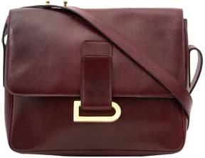 Delvaux Vintage Burgundy Leather Handbag
