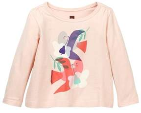 Tea Collection Dove Graphic Tee (Baby Girls)