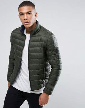 Solid Lightweight Padded Jacket