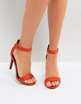 New Look Satin Heeled Sandal