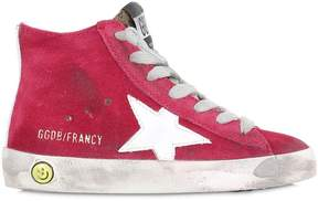 Golden Goose Deluxe Brand Francy Suede High Top Sneakers