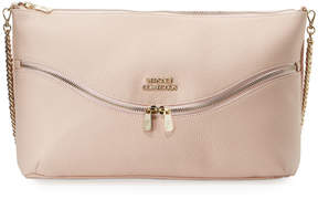 Versace Vitello Leather Shoulder Bag, Pink