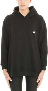 Chiara Ferragni Black Hoodie Bad Girl Sweatshirt
