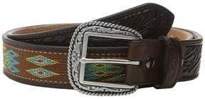 Ariat Ribbon Inlay Belt Men's Belts