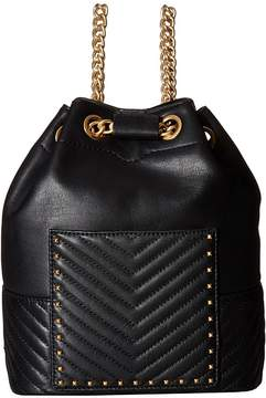 Rebecca Minkoff Becky Convertible Backpack Backpack Bags - BLACK - STYLE