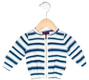 Paul Smith Boys' Dip-Dye Zip-Up Cardigan