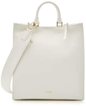 Jil Sander Marine Medium Leather Tote