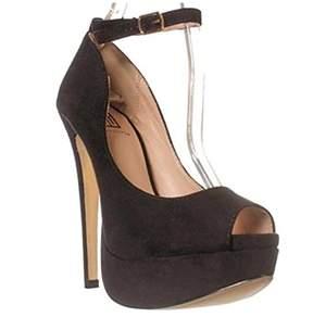 Report Signature Signature Selita Ankle Strap Pump Heels
