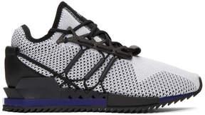 Y-3 White and Black Harigane Sneakers