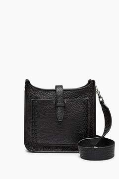 Rebecca Minkoff Mini Unlined Feed Bag Whipstitch - BLACK - STYLE