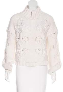 Giamba Turtleneck Knit Sweater