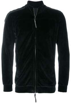 11 By Boris Bidjan Saberi velvet zipped jacket