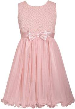 Bonnie Jean Girls 7-16 Sleeveless Brocade Ballerina Dress