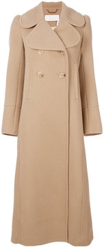 Chloé double breasted long coat