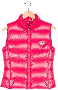 Moncler Girls' Ghany Down Vest