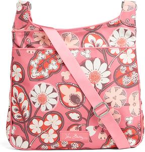 Vera Bradley Blush Pink Slim Crossbody Bag - BLUSH - STYLE