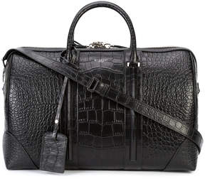 Givenchy embossed classic holdall