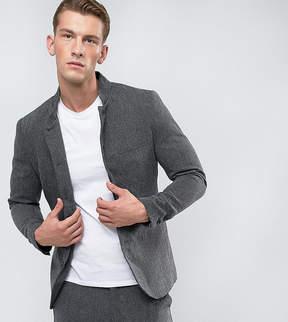 ONLY & SONS Slim Mandarin Collar Blazer