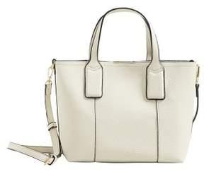 MANGO Pebbled mini shopper bag