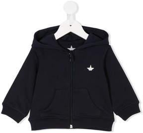 Macchia J Kids embroidered logo hoodie