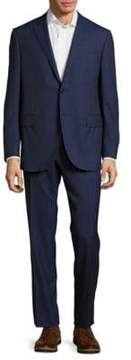 Corneliani Classic Fit Pinstripe Wool Suit