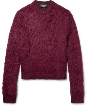Calvin Klein Brushed Mohair And Silk-Blend Sweater