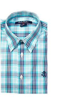 Brooks Brothers Boys' Plaid Woven Shirt