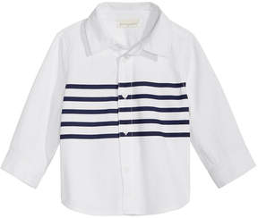 First Impressions Striped Cotton Shirt, Baby Boys (0-24 months), Created for Macy's
