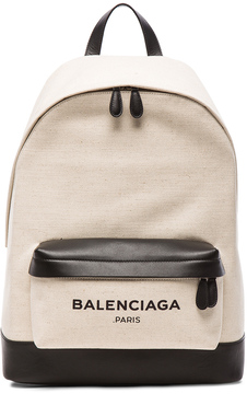 Balenciaga Navy Backpack