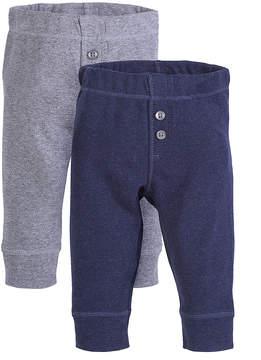 Petit Lem Blue & Gray Pants Set - Infant