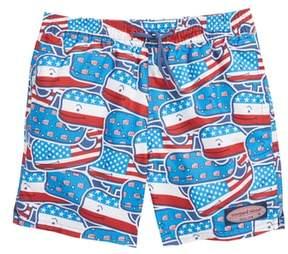 Vineyard Vines Chappy Whaley USA Swim Trunks