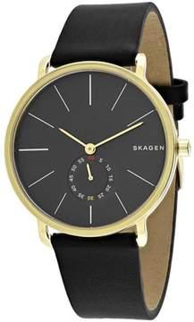 Skagen Hagen Collection SKW6217 Men's Leather Strap Watch