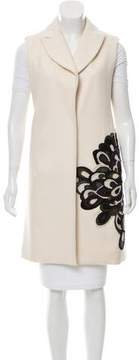 Behnaz Sarafpour Wool Embellished Vest