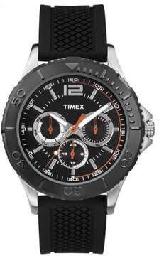 Timex TW2P87500 Taft Street Men's Watch Black 42mm Stainless Steel