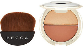 BECCA Shimmering Skin Perfector Split & Half Moon Brush