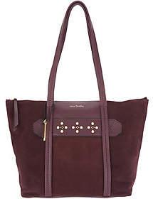 Vera Bradley Leather & Suede Mallory Tote Handbag