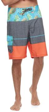 Ocean Current Men's Pineapple Tech Cargo Board Shorts