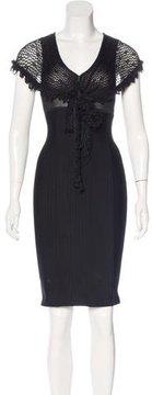 Chanel Cape Sheath Dress