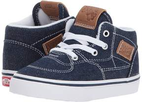 Vans Kids Half Cab Dress Blues/Chipmunk) Boys Shoes