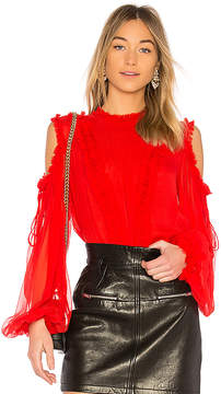 Alexis Belicia Sheer Blouse