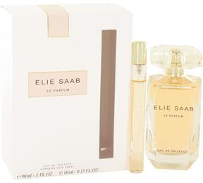 Elie Saab Le Parfum Gift Set for Women (3 oz Eau De Toilette Spray + .33 oz Mini EDT Spray)