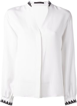 Etro embellished collar shirt
