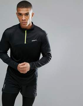 Craft Sportswear Radiate Running Half Zip Sweat In Black 1905387-999603