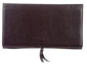Rochas Iridescent Leather Clutch